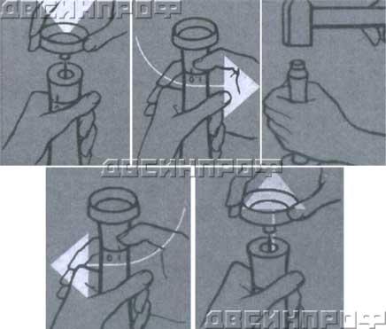 Инструкция по использования пробойников отверстий (просечек)