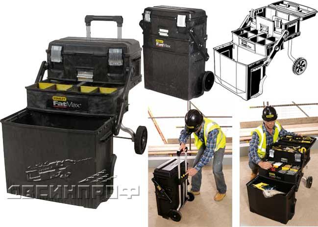 Ящик с колесами для инструментов своими руками 621